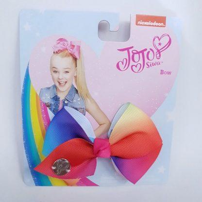 3.5 inch Rainbow JoJo Bow