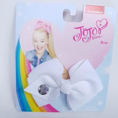 3.5 inch White JoJo Bow
