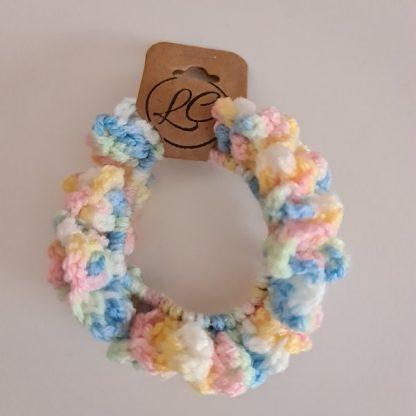 Handmade Crochet Multi-Colour Scrunchie