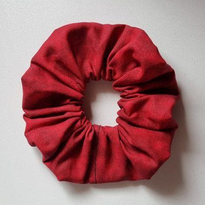 Handmade Red Scrunchie