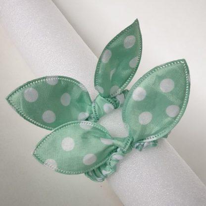 Thin Green Scrunchies