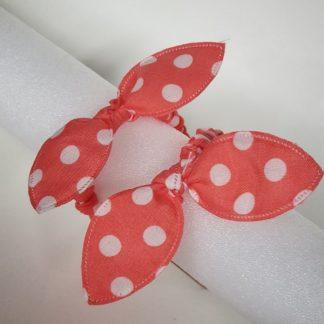 Thin Orange Scrunchies