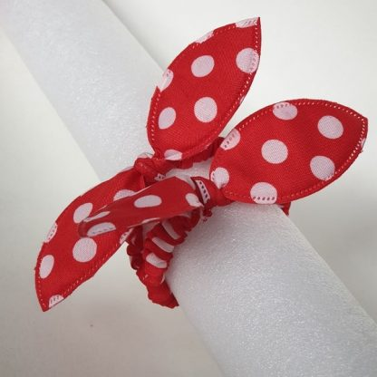 Thin Red Scrunchies